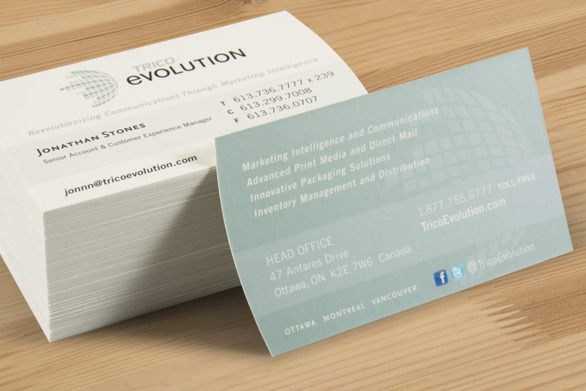 Expert business card printing the evolution group previous next reheart Image collections